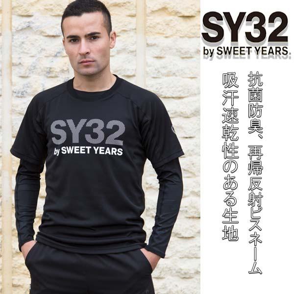 【メール便送料無料】SY32 by SWEET YEARS Tシャ...