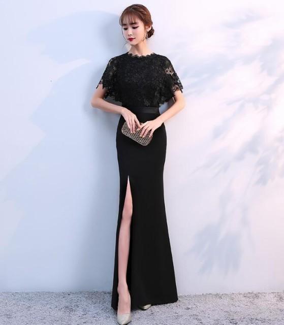 ロングドレス  二次会ドレス パーティードレス ...