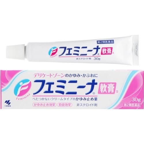 【第2類医薬品】フェミニーナ軟膏S 30g [2個セッ...
