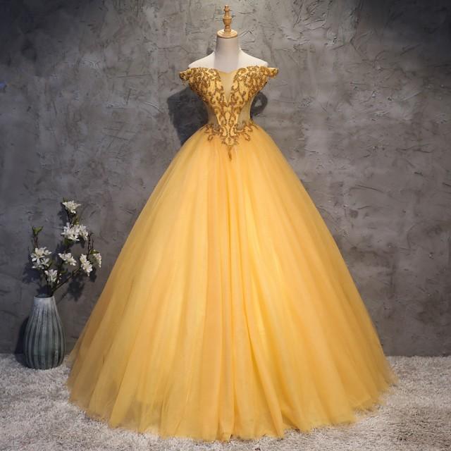 復古宮廷風 ウェディングドレス パーティドレス ...