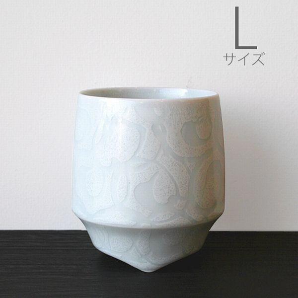 有田焼の焼酎カップ 【キハラ 香酒盃 L 白巻紋】