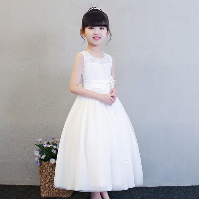 c9b27b5414083 子供 ピアノ発表会 ドレスロングフォーマルピアノ 子ども服 女の子ワンピースキッズダンス衣装 コンクール