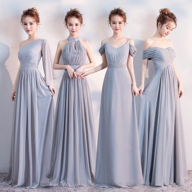 ブライズメイド ドレス 花嫁 お揃いドレス  ...