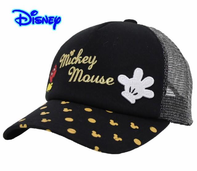 KIDSサイズ 子供 キャップ 帽子 ミッキー ディズ...