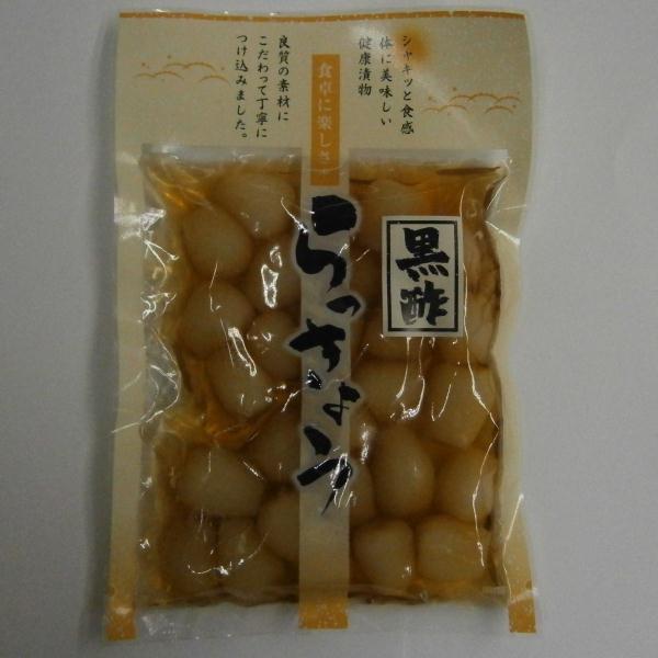 【ケース販売品】吉沢食品工業 黒酢らっきょう ...