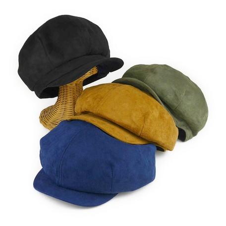 【帽子 キャップ】男女兼用◆Ruben フェイクスエ...