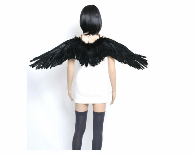 天使の羽 悪魔の羽 コスプレ コスチューム 羽根 ...