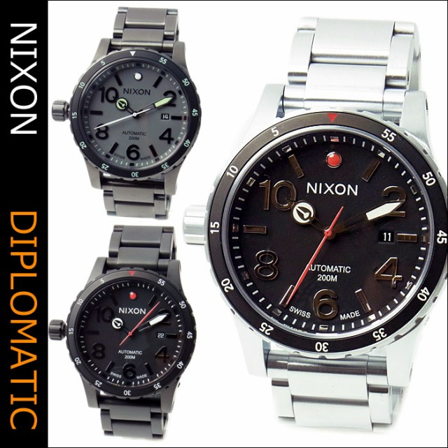 NIXON ニクソン 腕時計 オートマティック DIPLOMA...