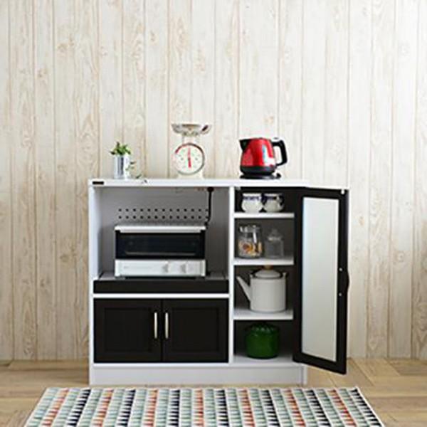 Cafetira(カフェティラ)食器棚(ロータイプ/90c...