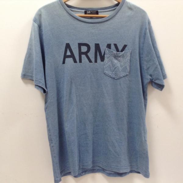 ビームスハート ポケットTシャツ 18061826 水色 /...