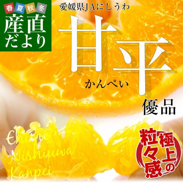 愛媛県より産地直送 JAにしうわ 甘平 (かんぺい) ...