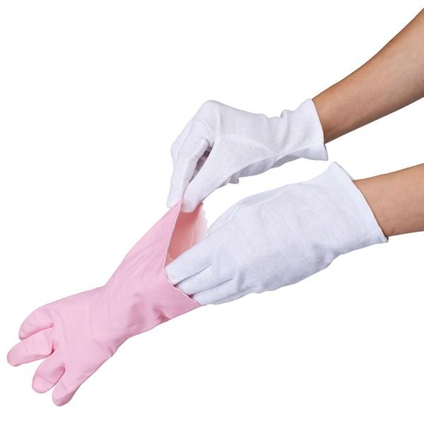 薄型インナーコットン手袋8枚入 アンダー手袋 乾...