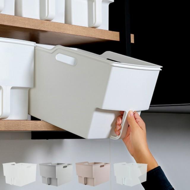 キッチン収納ケース 吊り戸棚ボックスワイド 幅24...