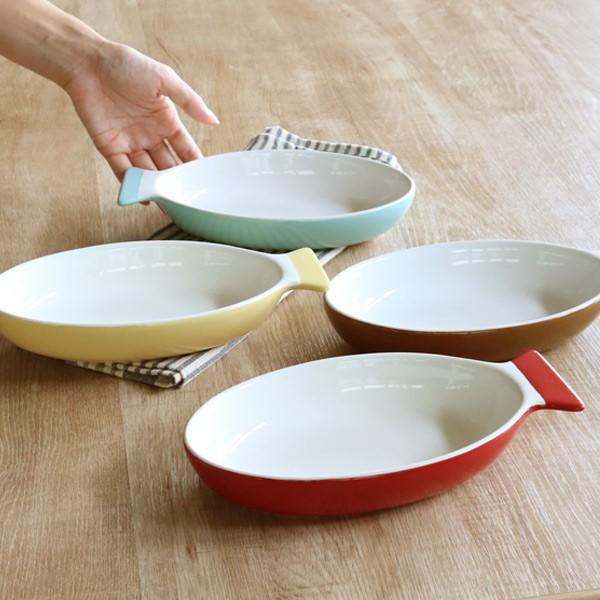 グラタン皿 一人用 さかなグラタン M 23cm 陶器 ...