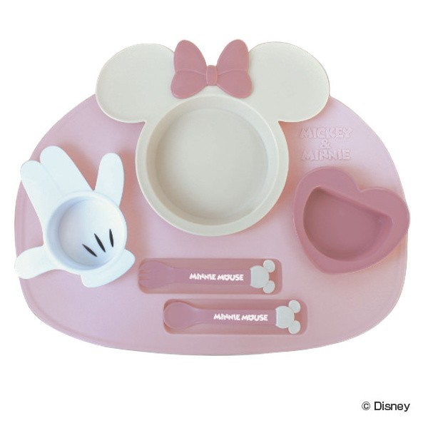 ランチプレート ベビー食器 セット ミニーマウス ...