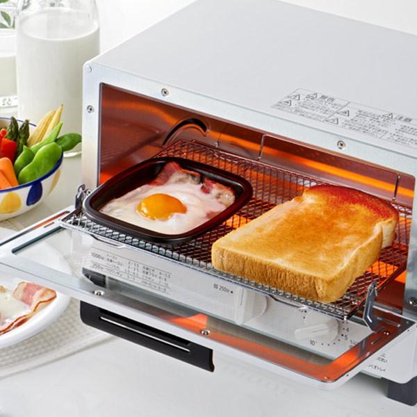 トースタートレー オーブントースタートレー 小 丸型 フッ素加工 アルミ製 ( クッキングトレイ オーブントレー 調理トレー 調理器具 調