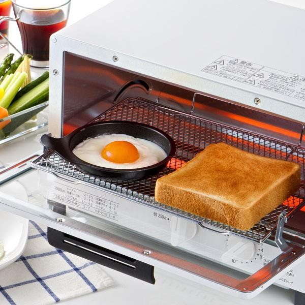 トースタートレー 目玉焼きプレート 丸型 フッ素加工 アルミ製 ( クッキングトレー オーブントレー 調理トレー 調理器具 調理道具 調理
