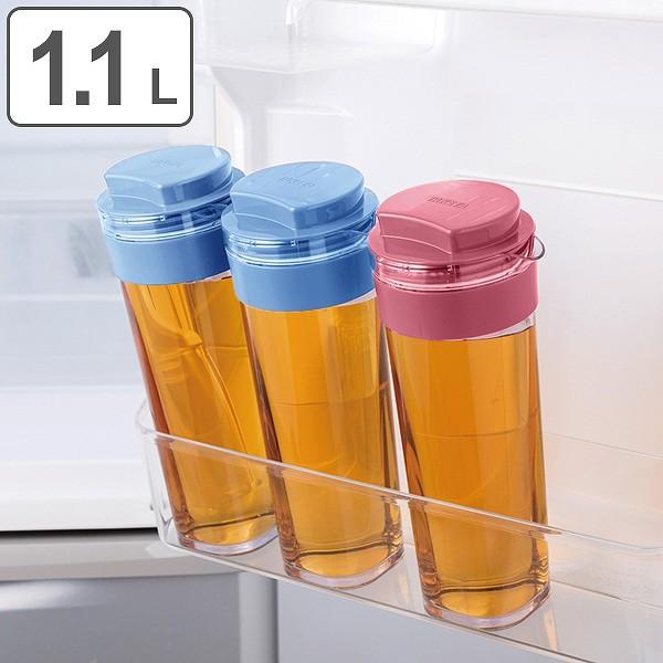 冷水筒 麦茶ポット スリムジャグ 1.1L ピッチャー...