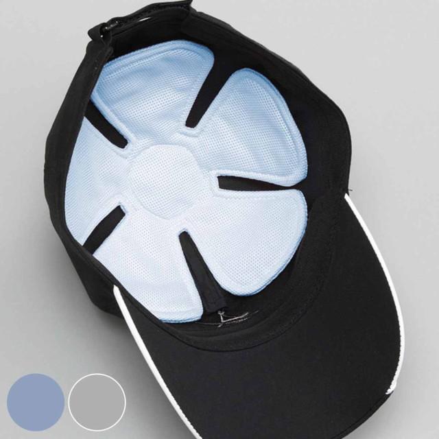 ヘッドクール 帽子 熱中症対策 冷却 冷感 ( 涼し...