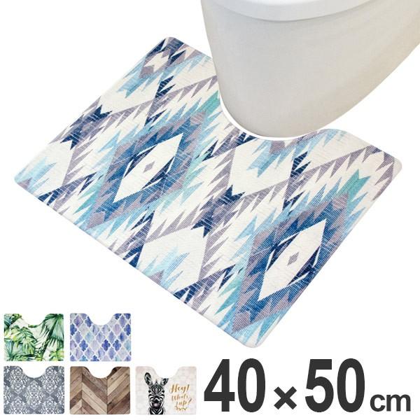 トイレマット 拭ける 撥水 PVCトイレマット ミニ ...