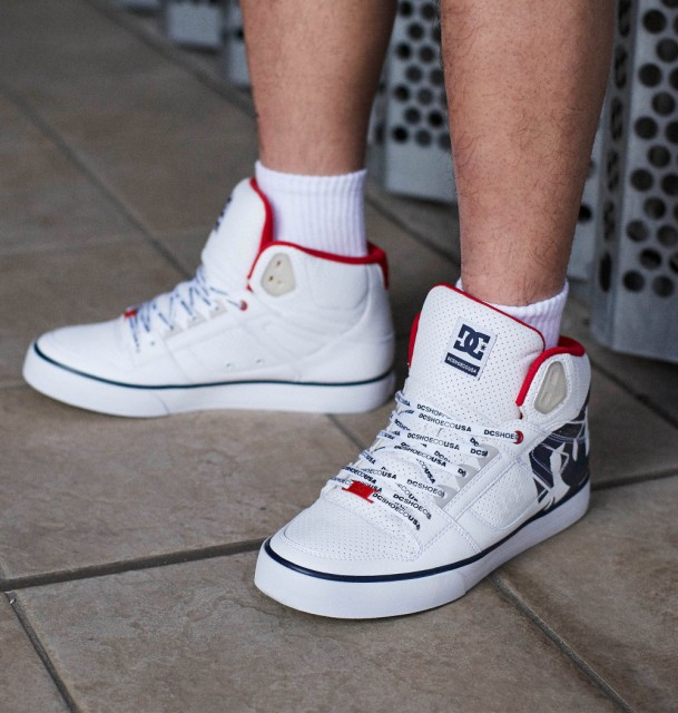 DC Shoes ディーシーシューズ PURE HIGH-TOP WC S...