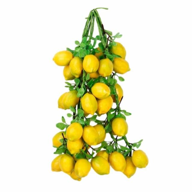 食品サンプル 吊るし果物 フルーツ 葉っぱつき 4...