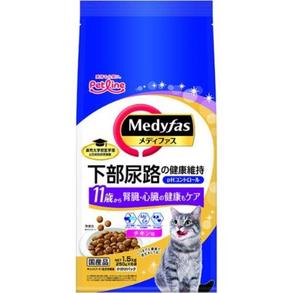 【SALE】メディファス 11歳から チキン味 1.5kg