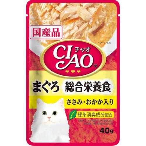 【SALE】チャオパウチ 総合栄養食 まぐろ ささみ...
