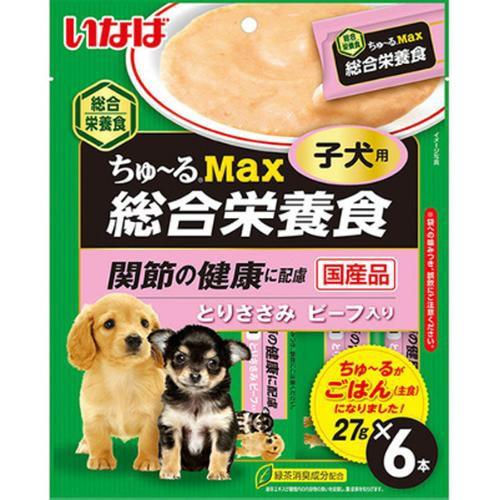 【SALE】ちゅ〜るMax 総合栄養食 子犬用 とりささ...