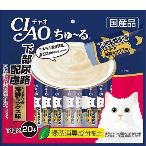 【SALE】チャオ ちゅ〜る 下部尿路配慮 とりささ...