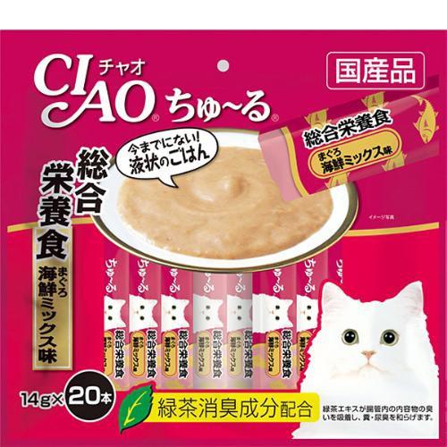 【SALE】チャオ ちゅ〜る 総合栄養食 まぐろ 海鮮...