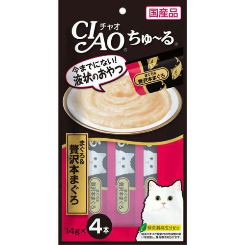 【SALE】チャオ ちゅ〜る まぐろ&贅沢本まぐろ 1...
