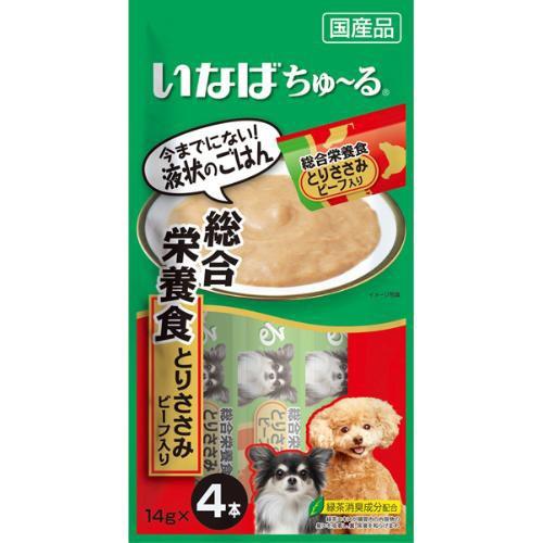 【SALE】いなば 犬用ちゅ〜る 総合栄養食 とりさ...