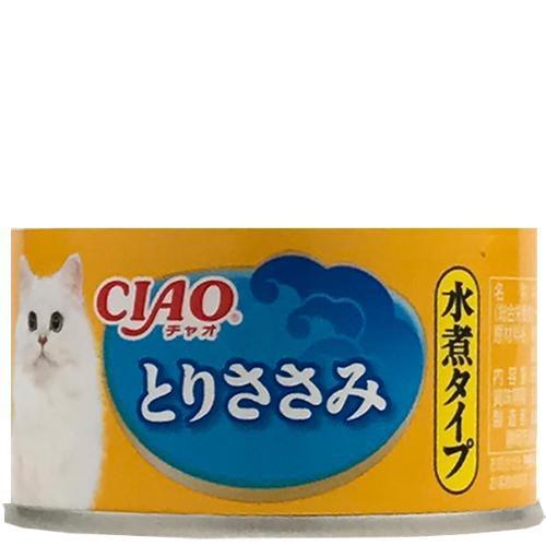 【SALE】【単品】チャオ 水煮タイプ とりささみ 8...