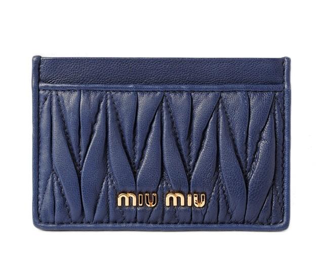 ミュウミュウ カードケース/名刺入れ miumiu  5M0...