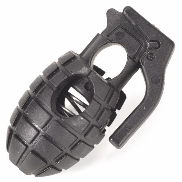 コードストッパー プラスチック 手榴弾型[411814]...