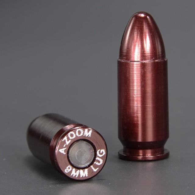 A-ZOOM 空撃ちケース 9mmパラベラム弾 5個セット ...