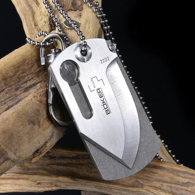 BOKER ドックタグナイフ 01BO210[bop01bo210]