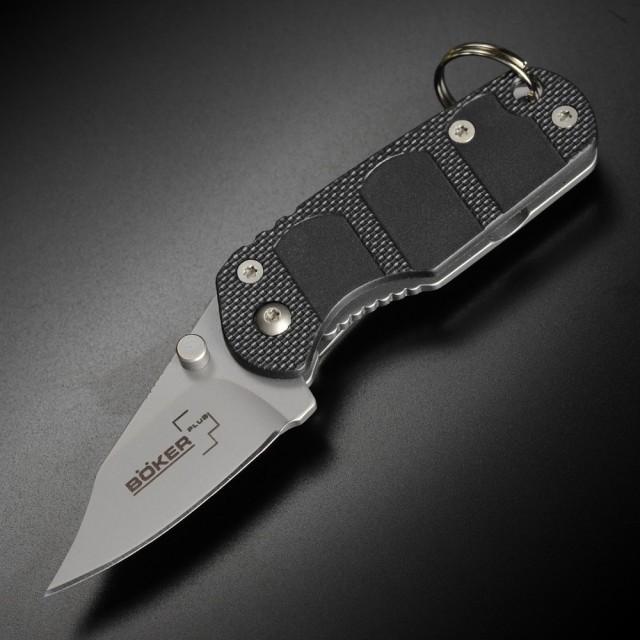 ボーカープラス 折りたたみナイフ CLB キーコム 5...