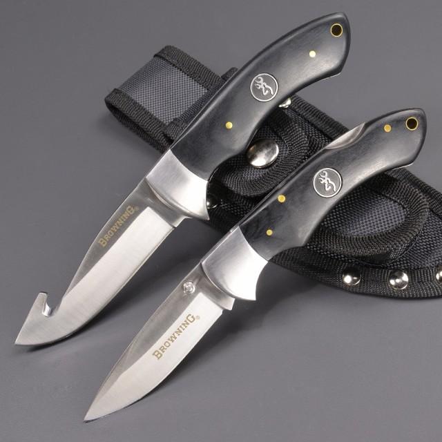 ブローニング ハンティングナイフ 2本セット ハン...