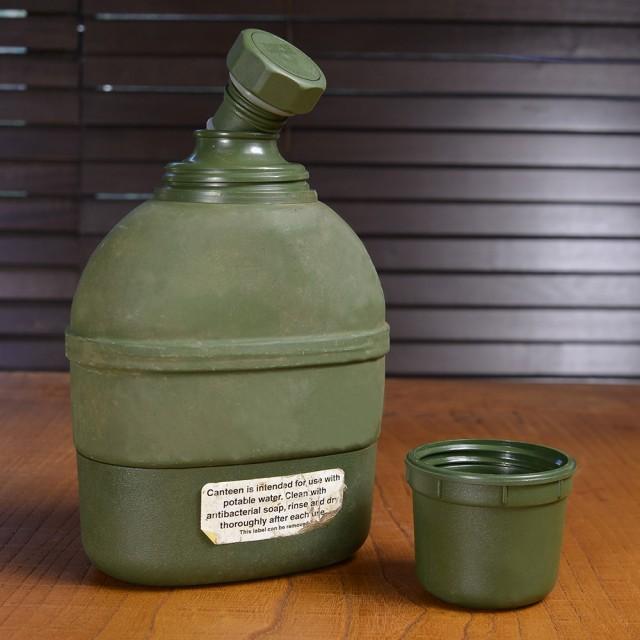 軍放出品 水筒 キャンティーン 魔法瓶 ノルウェー...