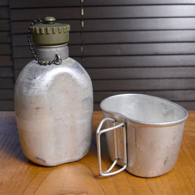 軍放出品 水筒 キャンティーンセット オーストリ...