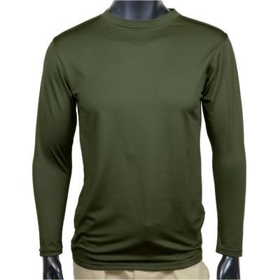 J.S.D.F. 長袖Tシャツ 無地 クルーネック 2704 [ ...