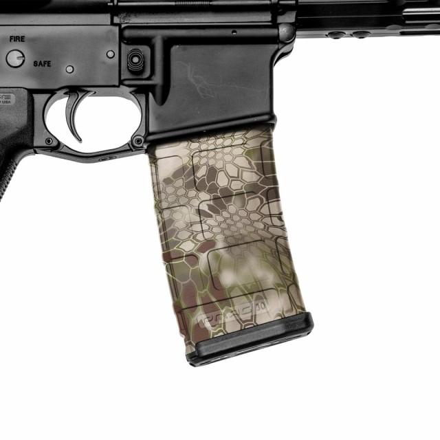 gunskins 保護フィルム ar 15マガジン用スキン 3本分 ハイランダー