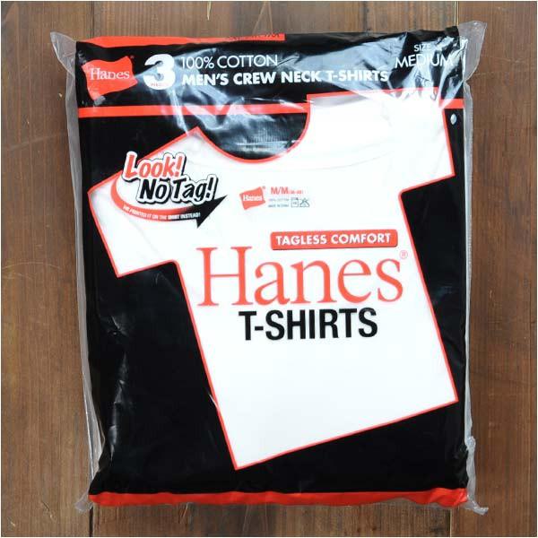 Hanes Tシャツ 半袖 無地 3枚組み レッドパック H...