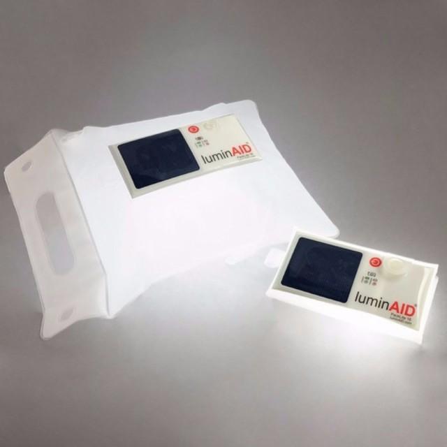 luminAID LEDランタン パックライト16 ソーラー充...