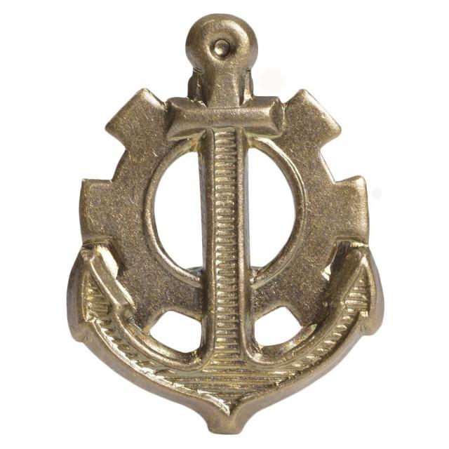 チェコ軍放出品 バッジ 記章 海軍機関士[ma636090...