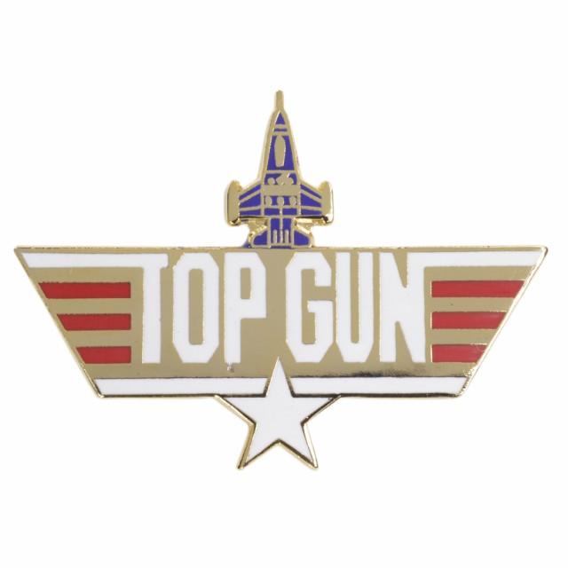 ピンバッジ TOP GUN アメリカ海軍 戦闘機兵器学校...
