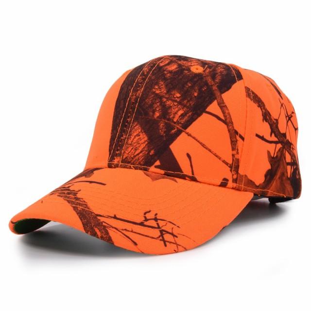Mossy Oak ブレイズオレンジ 野球帽 リアルツリー...