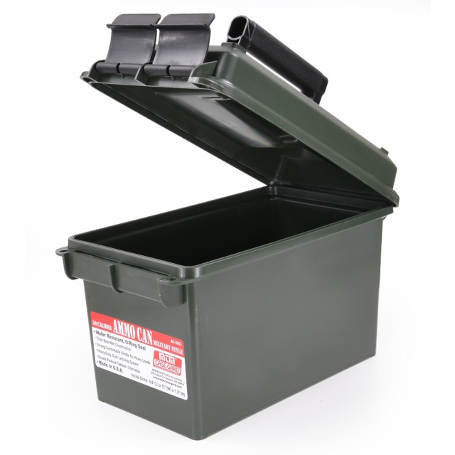 MTM 弾薬ケース.50 キャリバー 樹脂製[mtmac50p]